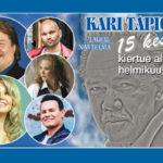 Suursuosion saavuttanut Kari Tapio 15 kesää -laulunäytelmät saavat jatkoa!