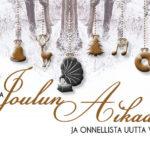 Gramofonin väki toivottaa tunnelmallista joulua ja hyvää uutta vuotta 2019!