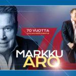 Markku Aron 70-v. juhlakiertue jatkuu 1.11. Ylivieskasta