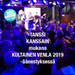 TANSSI KANSSAIN mukana Kultainen Venla 2019 -äänestyksessä!