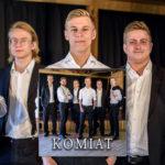 Komiat julkaisee Komiat-debyyttialbumin